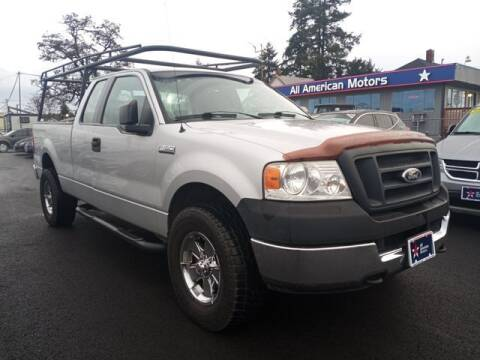 2005 Ford F-150 for sale at All American Motors in Tacoma WA