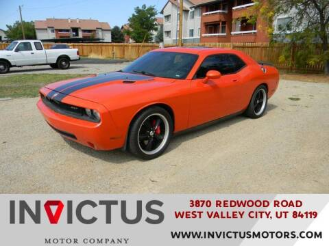 2009 Dodge Challenger for sale at INVICTUS MOTOR COMPANY in West Valley City UT
