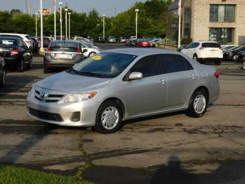 2011 Toyota Corolla for sale at Paniagua Auto Mall in Dalton GA