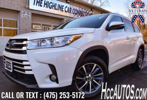 2017 Toyota Highlander for sale at The Highline Car Connection in Waterbury CT