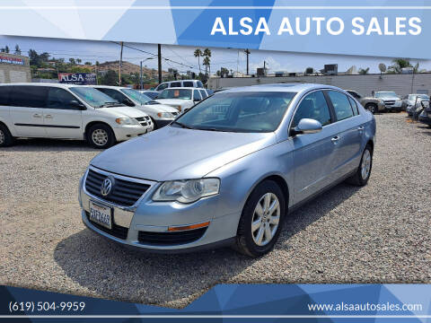 2006 Volkswagen Passat for sale at ALSA Auto Sales in El Cajon CA