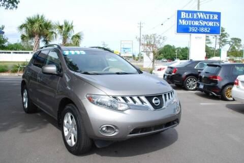 2009 Nissan Murano for sale at BlueWater MotorSports in Wilmington NC