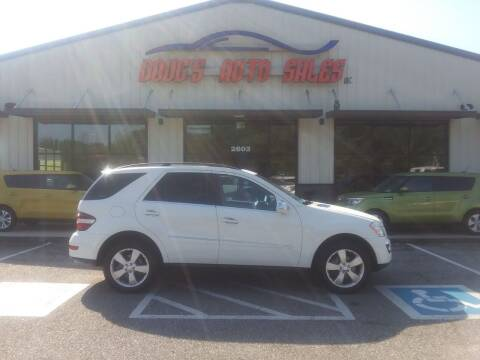 2010 Mercedes-Benz M-Class for sale at DOUG'S AUTO SALES INC in Pleasant View TN