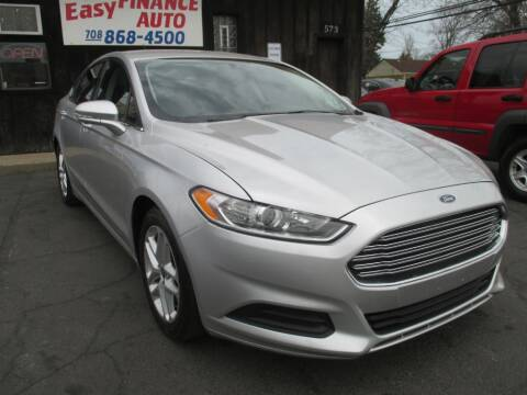 2016 Ford Fusion for sale at EZ Finance Auto in Calumet City IL