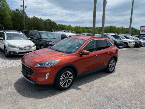 2020 Ford Escape for sale at Billy Ballew Motorsports in Dawsonville GA