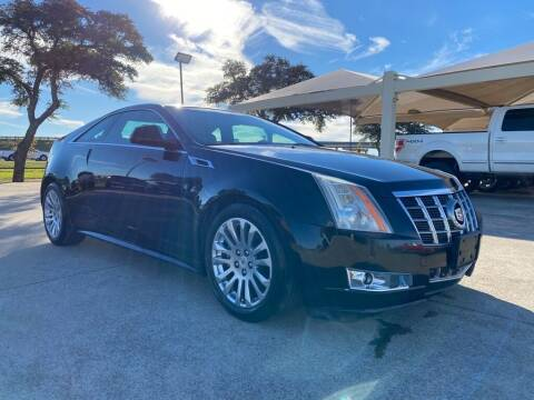 2012 Cadillac CTS for sale at Thornhill Motor Company in Hudson Oaks, TX