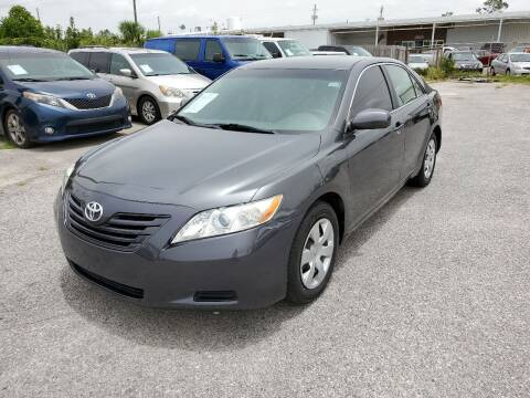 2007 Toyota Camry for sale at Jamrock Auto Sales of Panama City in Panama City FL
