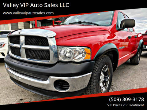 2003 Dodge Ram Pickup 1500 for sale at Valley VIP Auto Sales LLC in Spokane Valley WA