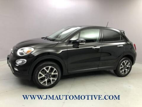 2018 FIAT 500X for sale at J & M Automotive in Naugatuck CT