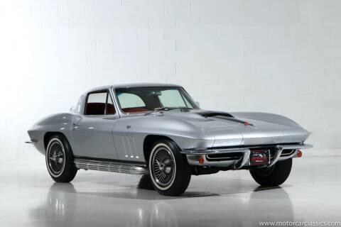 1965 Chevrolet Corvette for sale at Motorcar Classics in Farmingdale NY
