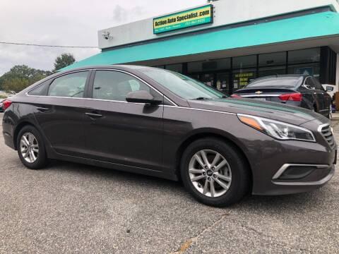 2017 Hyundai Sonata for sale at Action Auto Specialist in Norfolk VA