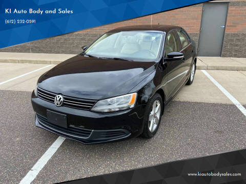 2013 Volkswagen Jetta for sale at KI Auto Body and Sales in Lino Lakes MN