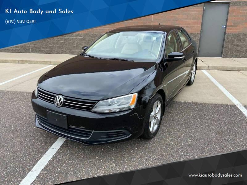 2013 Volkswagen Jetta for sale at KI Auto Body and Sales in Lino Lakes MN