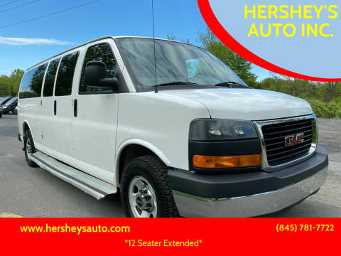 2013 GMC Savana Passenger for sale at HERSHEY'S AUTO INC. in Monroe NY