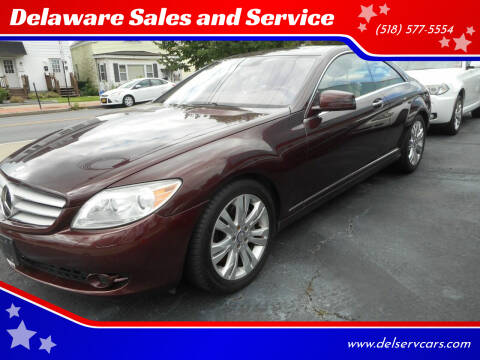 2010 Mercedes-Benz CL-Class for sale at Delaware Sales and Service in Albany NY