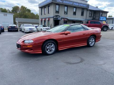 2002 Chevrolet Camaro for sale at Sisson Pre-Owned in Uniontown PA