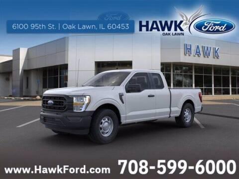 2021 Ford F-150 for sale at Hawk Ford of Oak Lawn in Oak Lawn IL