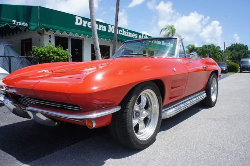 1964 Chevrolet Corvette for sale at Dream Machines USA in Lantana FL