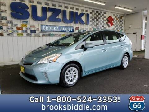 2013 Toyota Prius v for sale at BROOKS BIDDLE AUTOMOTIVE in Bothell WA