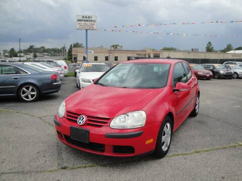 2007 Volkswagen Rabbit for sale at A&S 1 Imports LLC in Cincinnati OH