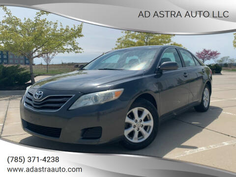 2010 Toyota Camry for sale at Ad Astra Auto LLC in Lawrence KS