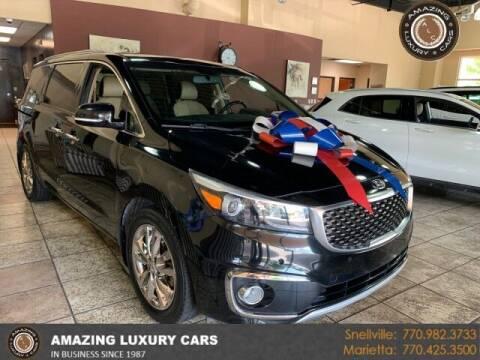 2016 Kia Sedona for sale at Amazing Luxury Cars in Snellville GA