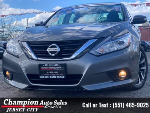 2016 Nissan Altima for sale at CHAMPION AUTO SALES OF JERSEY CITY in Jersey City NJ