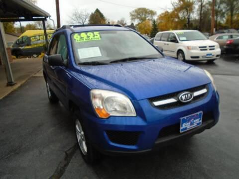 2009 Kia Sportage for sale at DISCOVER AUTO SALES in Racine WI