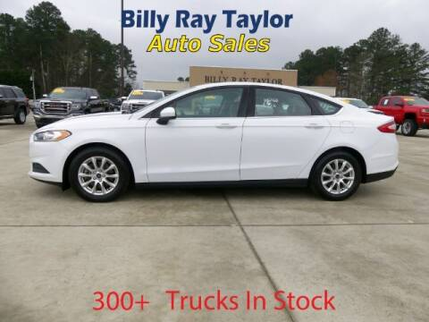 2016 Ford Fusion for sale at Billy Ray Taylor Auto Sales in Cullman AL