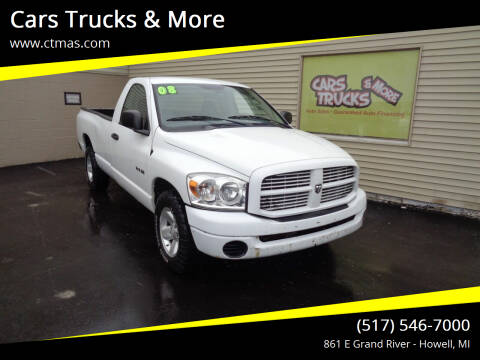 2008 Dodge Ram Pickup 1500 for sale at Cars Trucks & More in Howell MI