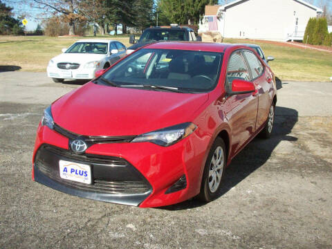 2017 Toyota Corolla for sale at A-Plus Motors in Alton ME