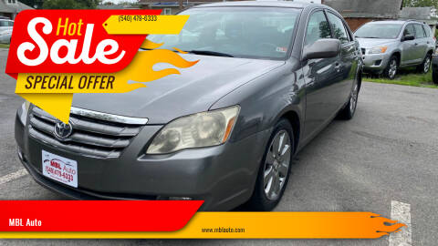 2006 Toyota Avalon for sale at MBL Auto Woodford in Woodford VA