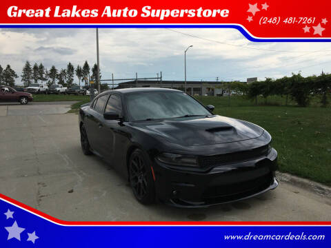 2018 Dodge Charger for sale at Great Lakes Auto Superstore in Pontiac MI