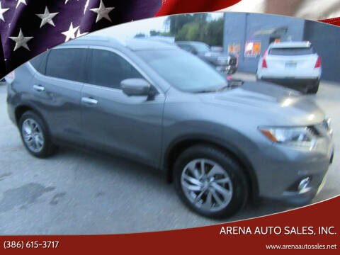 2014 Nissan Rogue for sale at ARENA AUTO SALES,  INC. in Holly Hill FL