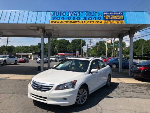 2011 Honda Accord for sale at Auto Smart Charlotte in Charlotte NC