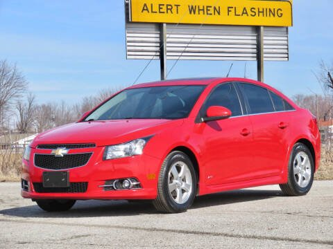 2013 Chevrolet Cruze for sale at Tonys Pre Owned Auto Sales in Kokomo IN