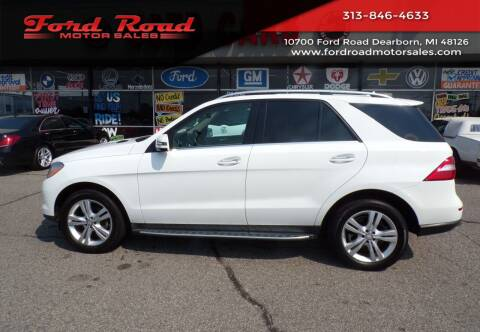 2015 Mercedes-Benz M-Class for sale at Ford Road Motor Sales in Dearborn MI