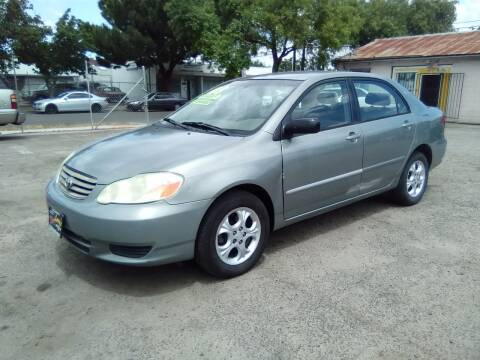 2003 Toyota Corolla for sale at Larry's Auto Sales Inc. in Fresno CA