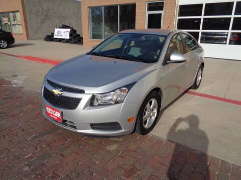 2014 Chevrolet Cruze for sale at Rediger Automotive in Milford NE