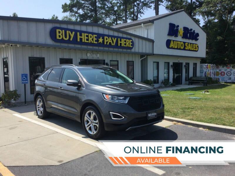 2015 Ford Edge for sale at Bi Rite Auto Sales in Seaford DE