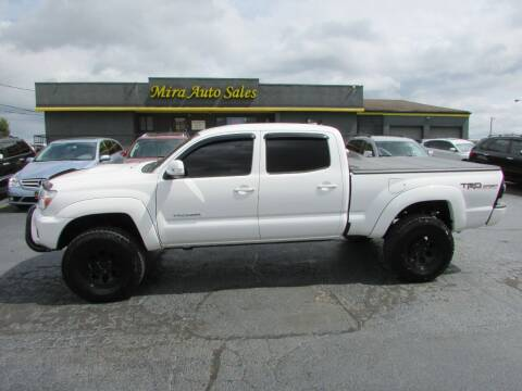 2015 Toyota Tacoma for sale at MIRA AUTO SALES in Cincinnati OH