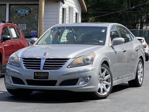 2013 Hyundai Equus for sale at Kugman Motors in Saint Louis MO