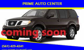 2012 Nissan Pathfinder for sale at PRIME AUTO CENTER in Palm Springs FL