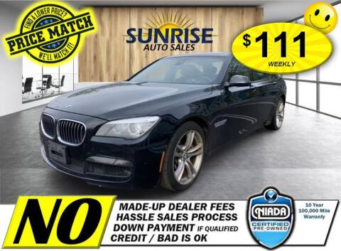 2014 BMW 7 Series for sale at AUTOFYND in Elmont NY