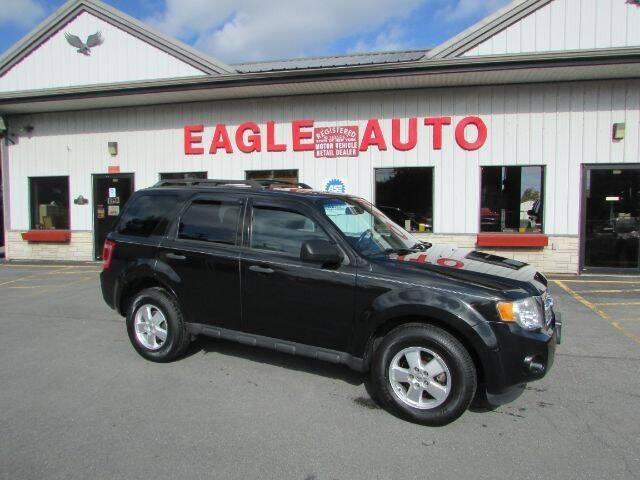 2011 Ford Escape for sale at Eagle Auto Center in Seneca Falls NY