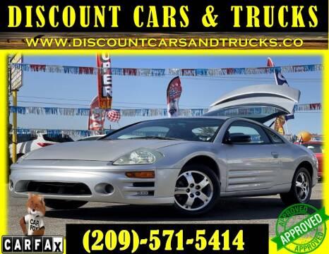 2003 Mitsubishi Eclipse for sale at Discount Cars & Trucks in Modesto CA