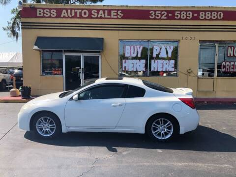 2008 Nissan Altima for sale at BSS AUTO SALES INC in Eustis FL