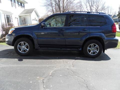 2003 Lexus GX 470 for sale at GLOBAL AUTOMOTIVE in Gages Lake IL