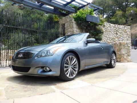 2012 Infiniti G37 Convertible for sale at Milpas Motors in Santa Barbara CA