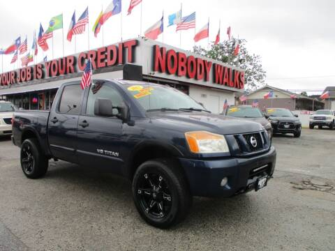 2012 Nissan Titan for sale at Giant Auto Mart 2 in Houston TX